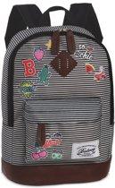 Bestway Backpack - Unisex - zwart/wit