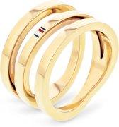 Tommy Hilfiger  TJ2701100 Ring  - Goudkleurig