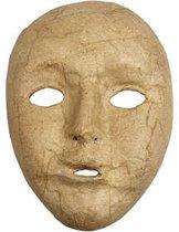 Volledig masker, h: 17,5 cm, b: 12,5 cm, 1stuk