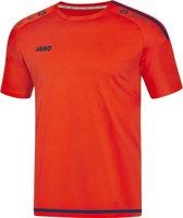 Jako Striker 2.0 Sportshirt - Voetbalshirts  - rood - 140