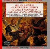 Masses & Vespers In Age O