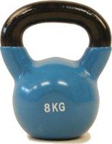 Focus Fitness - Kettlebell - 8 kg - Gietijzer / Vinyl coating