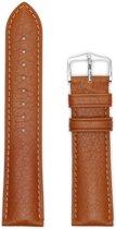 Hirsh Horlogeband -  Camelgrain Bruin - Leer - 22mm