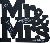 Gingerray Mr And Mrs krijtbord letters - Vintage Affair