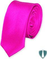 Roze stropdas skinny