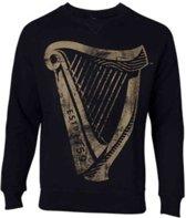 Guinness - Distressed Harp Logo Men s Sweatshirt - XL