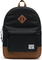 Herschel Supply Co. Heritage Youth Rugzak - Black / Saddle Brown