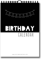 Birthdaycalendar   Verjaardagskalender   Engelstalig