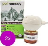 Pet Remedy Verdamper + Vulling - Anti stressmiddel - 2 x 40 ml