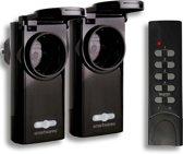 Smartwares Smarthome SH5-SET-OP36 Starter set - 2 draadloze schakelaars 3600W + afstandsbediening - geschikt voor geschikt voor buiten - Nederland