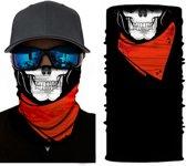 Skull Mask | Skull Motor Mask | Skull Fiets Mask | Multifunctioneel Skull Mask | Doodshoofd, Schedel, Masker Col En Sjaal
