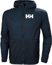 Helly Hansen Active Windbreaker Jas Heren, navy Maat M