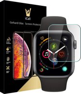 Apple Watch Series 1 / 2 / 3 38 mm Screenprotector Glazen Gehard | Tempered Glass Screen Protector iCall