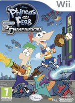 Phineas and Ferb: Across the Second Dimension /Wii