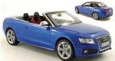 Audi S5 Cabriolet 1:18 Norev Blauw 188361