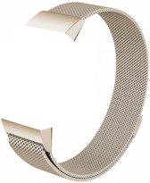 123Watches.nl Fitbit charge 3 milanese band - retro goud - SM