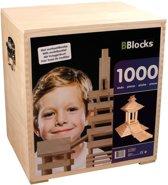 Bblocks in Houten Kist 1000-delig