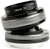 Lensbaby Composer Pro II with Sweet 35 Optic SLR Zwart, Zilver
