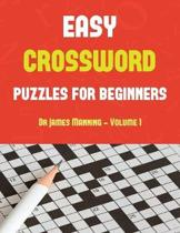 Easy Crossword Puzzles for Beginners (Vol 1)