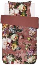 Essenza Fleur - Dekbedovertrek - Eenpersoons - 140x200/220 cm + 1 kussensloop 60x70 cm - Dusty Rose
