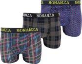 3 stuks Bonanza boxershorts - Regular - Portland - Maat XXL