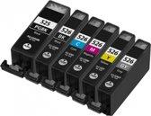 Canon PGI-525 CLI-526 XL Multipack (6set) huismerk