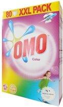 Omo Waspoeder Kleur - 80 Wasbeurten - 5.6 kg