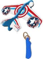 Marvel Katapult Vliegtuig Avengers: Captain America 12 Cm Blauw