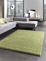 Vloerkleed Shaggy Plus 965 Green 200x200 cm-Round