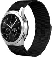 YONO Milanees bandje - Samsung Galaxy Watch (46mm)/Gear S3 - Zwart