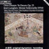 Te Deum/Langlais/Messe So
