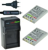 ChiliPower EN-EL5 Nikon Kit - Camera Batterij Set
