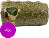 Vitakraft Vita Verde Hooitunnel Medium - Knaagdiersnack - 4 x 400 g