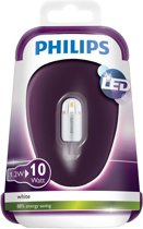 Philips LED capsule G4 1,2W (10W) koudwit 105 lm