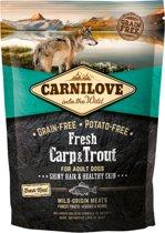 Carnilove Dog Fresh Karper en Forel 1,5 kg