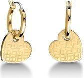 TJ GP Off Center Heart Earrings