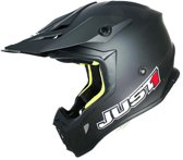 JUST1 Helmet J38 Solid Mattblack 62-XL