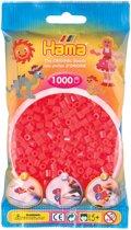 Strijkkralen 1000 Stuks Rood Neon