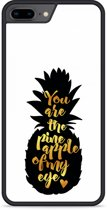 iPhone 8 Plus Hardcase hoesje Big Pineapple