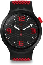 Swatch Big Bold Blood Horloge  - Rood