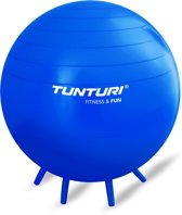 Tunturi Zitbal / Fitnessbal - Ø 65 cm - Blauw