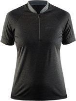 Craft pulse jersey w - Sportshirt - Dames - Black/Grey - S