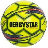 Derbystar Straatbal - Voetbal - Kinderen en volwassenen - geel/grijs/rood - Maat 5
