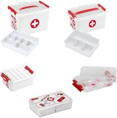 First Aid  EHBO set 5 dlg opberboxen set Sunware