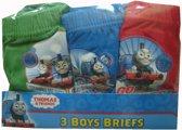 jongens Onderbroek Set van 3 Thomas de Trein onderbroeken maat 104/110,groen 8719558111190