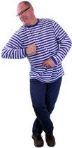 Dorustrui blauw-wit Maat 40(dames) - 50(heren)