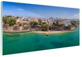 FotoCadeau.nl - San Juan  Glas 120x80 cm - Foto print op Glas (Plexiglas wanddecoratie)