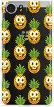Blackberry KEYone Hoesje Happy Ananas