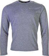 Nike Sportshirt - Maat L  - Mannen - grijs