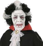 Vampier masker met pruik voor volwassenen